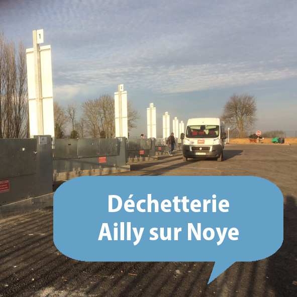 dechetterie ailly sur noye somme picardie